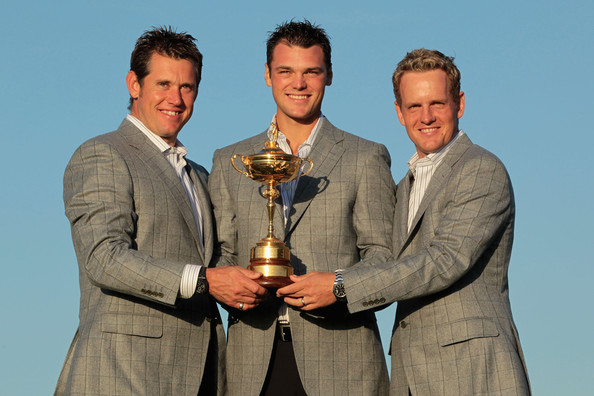 Martin Kaymer and Lee Westwood - Singles Matches-2010 Ryder Cup