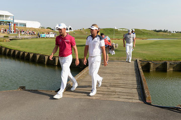 Martin Kaymer Victor Dubuisson Alstom Open de France - Day Two