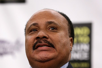 Martin Luther King III Celebs Gather for Gun Control
