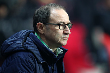 Martin O'Neill Denmark v Republic of Ireland - FIFA 2018 World Cup Qualifier Play-Off: First Leg