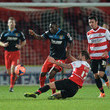 Martin Woods Doncaster Rovers v Stevenage - FA Cup Third Round