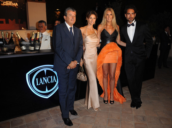 Celebrities At The Lancia Cafe - June 16, 2011