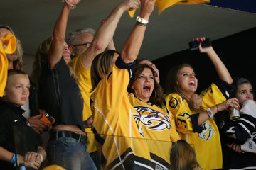 Martina McBride Celebrities Attend the 2017 NHL Stanley Cup Final - Game Three