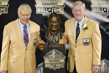 Marv Levy NFL Hall of Fame Induction