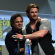 'The Avengers' Stars Reunite in Hall H at Comic-Con