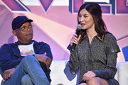 Samuel L. Jackson and Gemma Chan Photos Photo