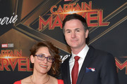 "Anna Boden (L) and Ryan Fleck attend Marvel Studios ""Captain Marvel"" Premiere on March 04, 2019 in Hollywood, California."