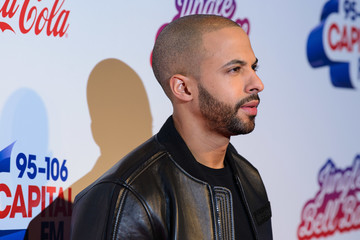 Marvin Humes Capital FM Jingle Bell Ball Day 2 - Red Carpet Arrivals