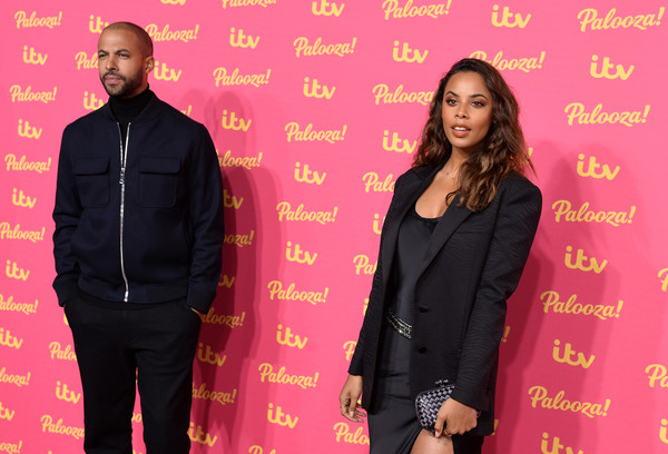 ITV Palooza 2019 - Red Carpet Arrivals [formal wear,suit,outerwear,fashion,event,blazer,photography,jacket,tuxedo,red carpet arrivals,itv palooza 2019,marvin humes,rochelle humes,itv palooza,london,england,royal festival hall]