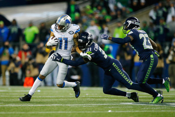 Marvin Jones Wild Card Round - Detroit Lions v Seattle Seahawks