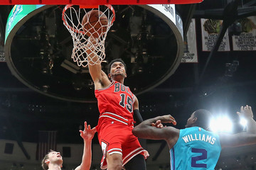 Marvin Williams Charlotte Hornets vs. Chicago Bulls