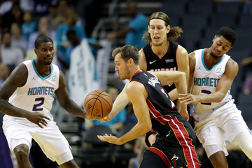 Marvin Williams Miami Heat v Charlotte Hornets