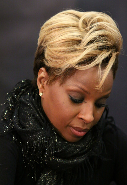 mary j blige hair color. hair MARY J. BLIGE: STILL
