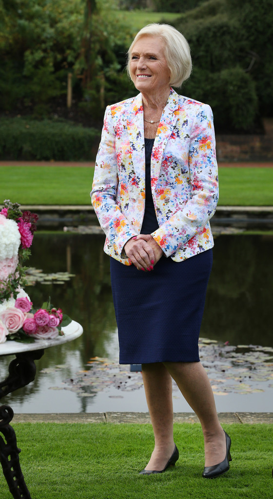 Mary Berry Photos - Mary Berry Opens RHS Wisley Flower Show - Zimbio