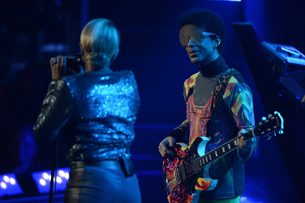 Mary J. Blige and Prince - 2012 iHeartRadio Music Festival - Day 2 - Show