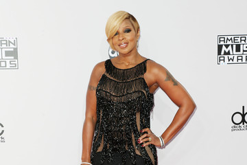 Mary J. Blige Arrivals at the American Music Awards — Part 2