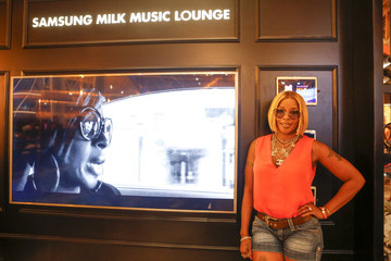 Mary J. Blige Samsung At The 2015 ESSENCE Festival