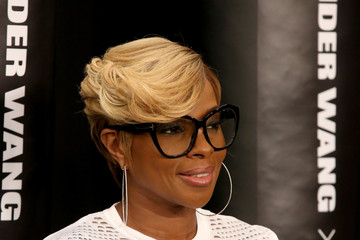 Mary J. Blige Arrivals at the Alexander Wang X H&M Launch