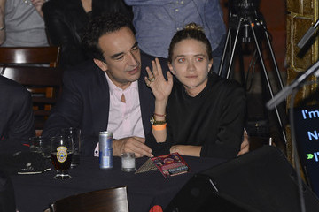 Mary-Kate Olsen Olivier Sarkozy Ronnie Wood and Mick Taylor Perform in NYC