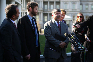 Mary Kay Henry Labor Leaders Meet With Obama At The White House