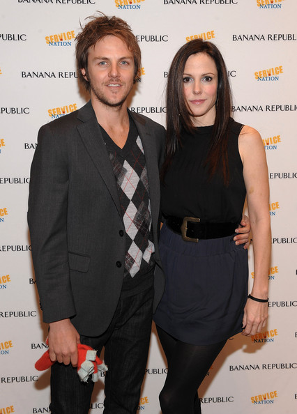 Mary-Louise Parker with Boyfriend Charlie Mars