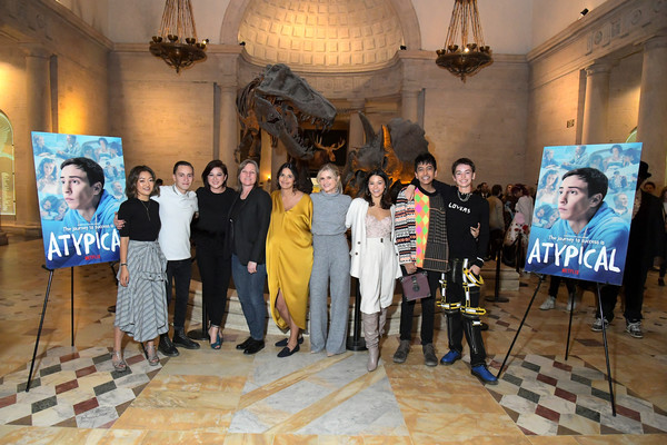"Netflix ""Atypical"" Season 3 Special Screening [season,event,community,vernissage,art,visual arts,tourist attraction,performance,art exhibition,cindy holland,keir gilchrist,amy okuda,fivel stewart,atypical,l-r,netflix,screening,screening]"