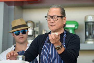 Masaharu Morimoto Goya Foods Grand Tasting Village Featuring MasterCard Grand Tasting Tents & KitchenAid® Culinary Demonstrations - 2016 Food Network & Cooking Channel South Beach Wine & Food Festival presented by FOOD & WINE