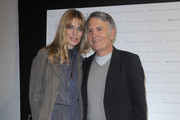 Designer Massimo Rebecchi and Filippa Lagerback attend the Massimo Rebecchi fashion show as part of Milan Fashion Week Womenswear Autumn/Winter 2011 on February 25, 2011 in Milan, Italy.