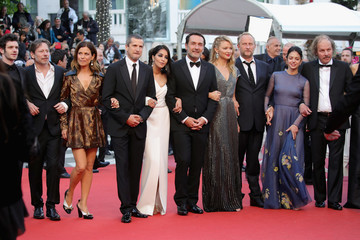 Mathieu Amalric 'Sink Or Swim (Le Grand Bain)' Red Carpet Arrivals - The 71st Annual Cannes Film Festival