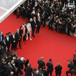 Mathieu Amalric 'Invisible Demons' Red Carpet - The 74th Annual Cannes Film Festival