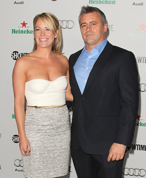 Andrea Anders and matt leblanc 2014