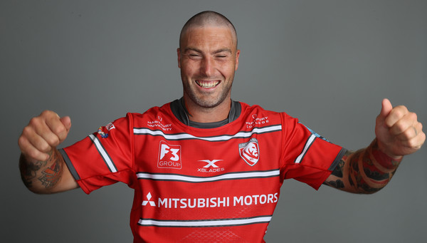 Gloucester Rugby Squad Photo Call