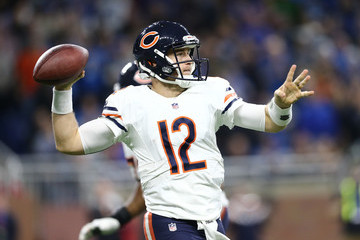 Matt Barkley Chicago Bears v Detroit Lions