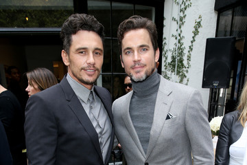 Matt Bomer Globes Weekend Gets Sporty With Athletic Royalty