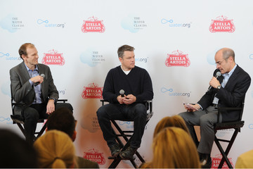 Matt Damon Stella Artois Celebrates World Water Day With Public Art Installation, 'THE WATER CLOUDS BY STELLA ARTOIS'