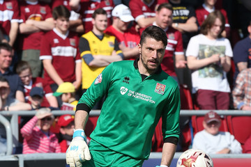 Matt Duke Northampton Town v Cambridge United - Sky Bet League Two