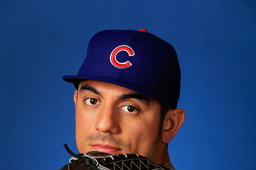 Matt Garza Chicago Cubs Photo Day