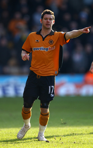 Matt Jarvis Matt Jarvis of Wolves in action during the FA Cup Sponsored by E.ON 4th Round match between Wolverhampton Wanderers and Stoke City at Molineux on January 30, 2011 in Wolverhampton, England.