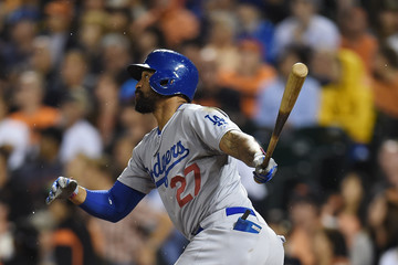 Matt Kemp Los Angeles Dodgers v San Francisco Giants