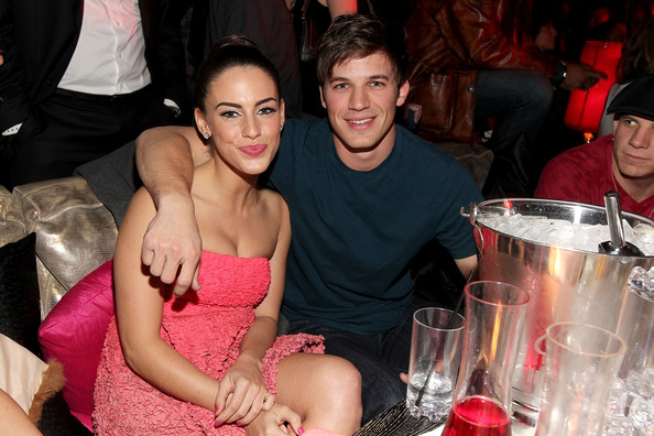 Matt Lanter Actress Jessica Lowndes and Matt Lanter inside Peter Travers and Editors of Rolling Stone Host Awards Weekend Bash at Drai's Hollywood - Inside at Drai's Hollywood on February 26, 2011 in Hollywood, California.