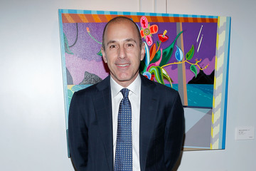 Matt Lauer Arrivals at the 2013 Tribeca Ball