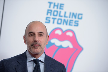 Matt Lauer The Rolling Stones Celebrate the North American Debut of Exhibitionism at Industria in the West Village - Arrivals