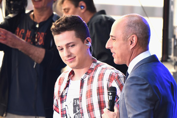 Matt Lauer Charlie Puth Performs On NBC's 'Today'