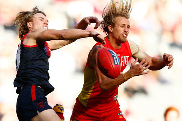 Matt Shaw AFL Rd 19 - Melbourne v Gold Coast