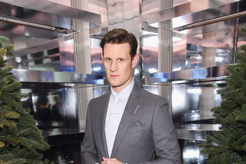 """Matt Smith Naomi Campbell And Matt Smith Celebrate """"Close Your Eyes And Think Of Christmas"""" In New York"""