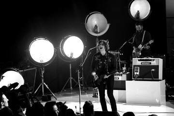 Matthew Followill Kings Of Leon On AT&T At iHeartRadio Theater LA