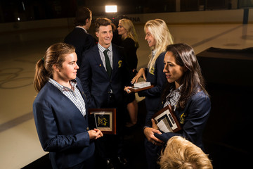 Matthew Graham Australian Winter Olympic Athletes Official Welcome Home Presentation