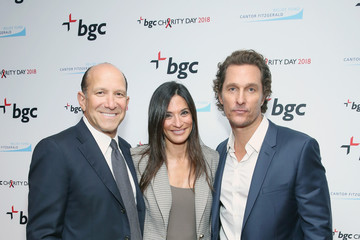 Matthew McConaughey Allison Lutnick Annual Charity Day Hosted By Cantor Fitzgerald, BGC and GFI - BGC Office - Arrivals
