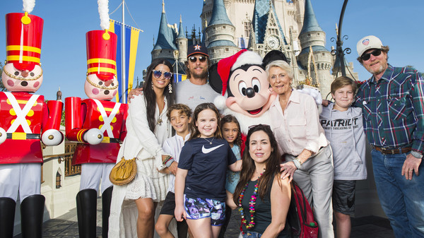 Celebrities Visit Walt Disney World
