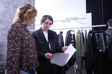 Matthew Miller International Woolmark Prize 2017/2018 - Backstage